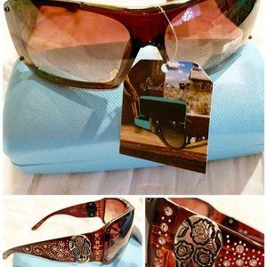 Montana west sugar skull sunglasses